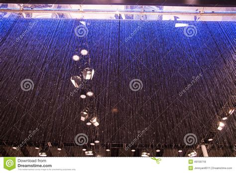 water curtain system principle water curtain system stock photo image 49159718