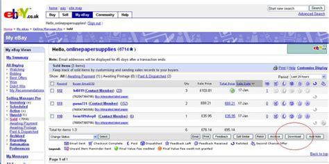 ebay invoice download invoice template ebay rabitah net