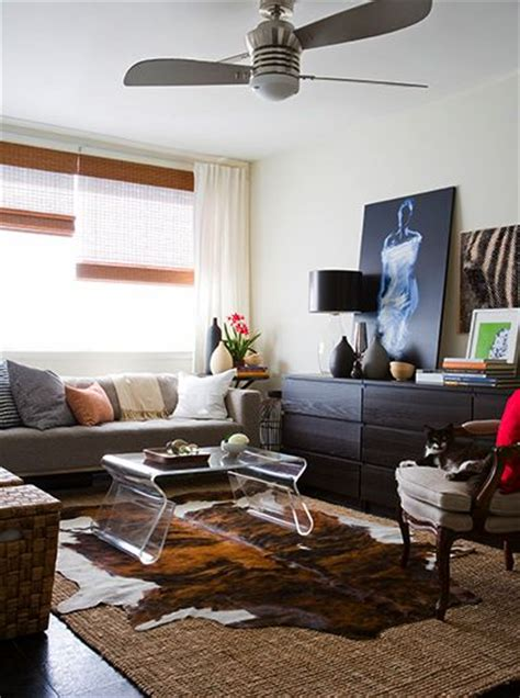 decorating with cowhide rugs the world s catalog of ideas