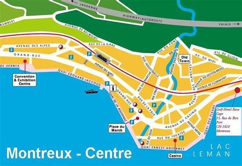 map of montreux golf hotel rene capt montreux suiza opiniones