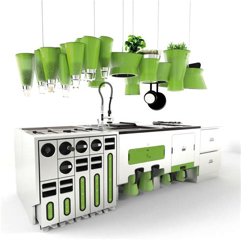 sustainable kitchen design eco friendly futuristic kitchen idesignarch interior