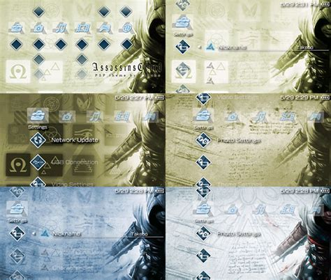 psp latest themes 2014 assassins creed psp theme by takebo on deviantart