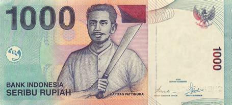 Uang Lama Rp10 000 dengan redenominasi nanti uang satu juta jadi seribu rupiah