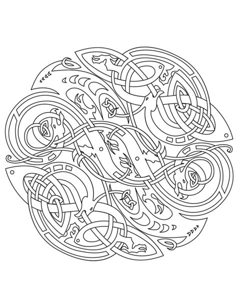 coloring pages designs mandala pin printable mandalas celtic design amihaicom home on