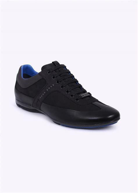 Hugo Bos Black hugo black for mercedes merceso trainers black