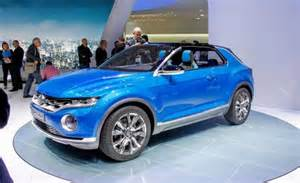 volkswagen t roc concept – news – car and driver