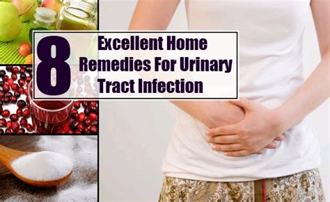 8 excellent home remedies for uti treatments