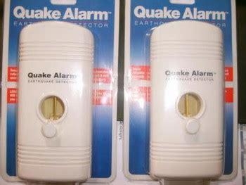 Jual Quake Alarm jual quake alarm alat deteksi gempa bumi dari u s a