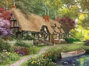 cozy cottage ez grip puzzles white mountain puzzles