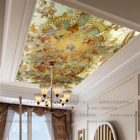 Ceiling Murals Wallpaper by Mural Mural Ceiling Mural Wallpaper Fashion Painting