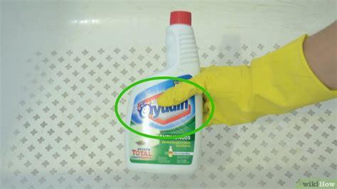 come pulire la vasca da bagno 3 modi per pulire la vasca da bagno wikihow