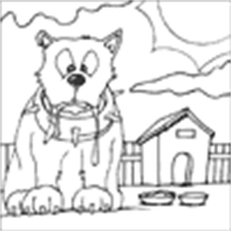 dog digging coloring page how to draw dog digging