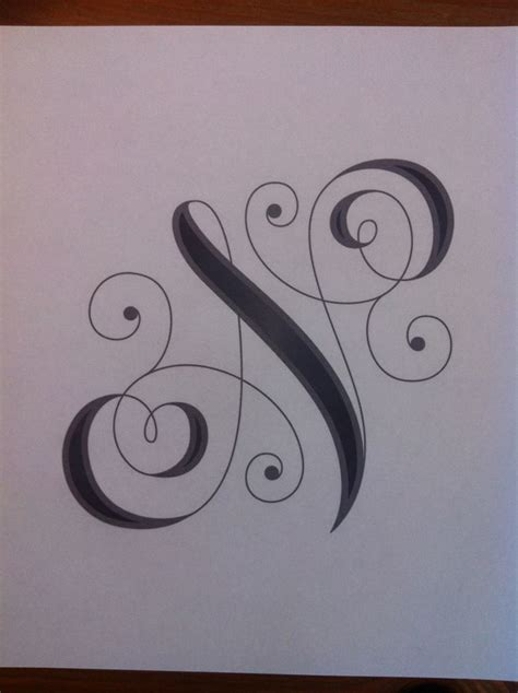 fancy letter tattoos designs the world s catalog of ideas