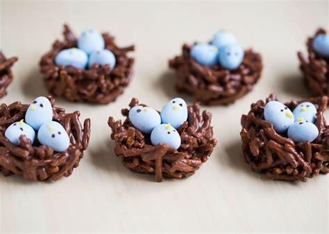 chocolate egg nest treats i heart nap time