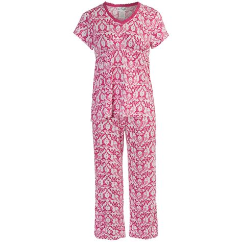 Pajamas Rayon bsoft by frankie and johnny pajamas rayon cotton sleeve for save 50