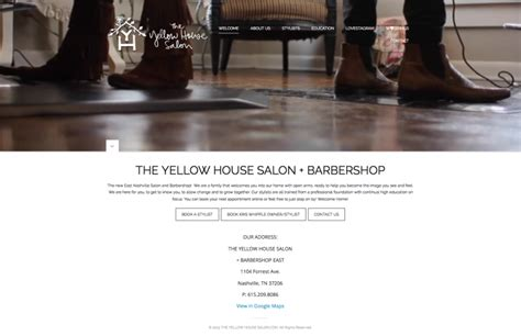 yellow house salon the yellow house salon