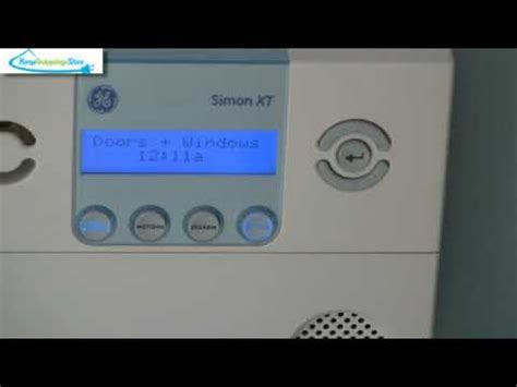 ge simon xt wireless home security system