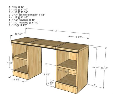 woodworking plans for bathroom vanity kids vanity woodworking plans woodshop plans