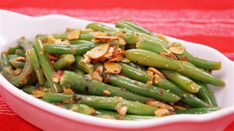 green bean almondine recipe easy green bean side dish