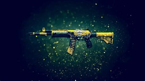 Wall Paper On Ceiling by Gallil Skull Assault Rifle Cs Go Wallpaper 8901