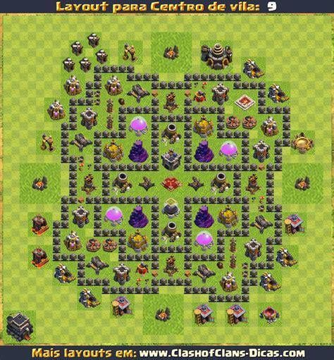 layout batman cv 9 layouts para cv9 em clash of clans atualizados clash