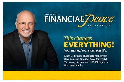 coupon for financial peace university