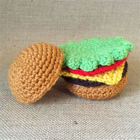 amigurumi hamburger pattern free 17 best images about crochet playfood on pinterest bacon