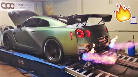 tanner fox gtr my gtr spits 5ft flames not photoshopped youtube