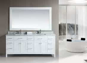 Bathroom Vanities Okc Avola 92 Inch Double Sink Bathroom Vanity White Finish