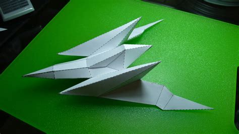 Arwing Papercraft - starfox 64 arwing beta nuclear pixel