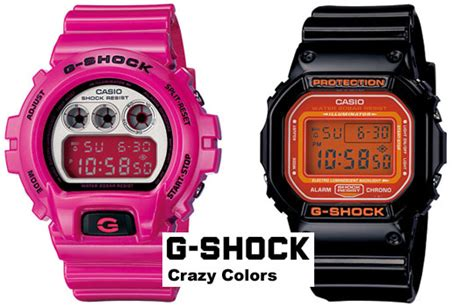 G Shock Collour g shock quot color quot collection highsnobiety
