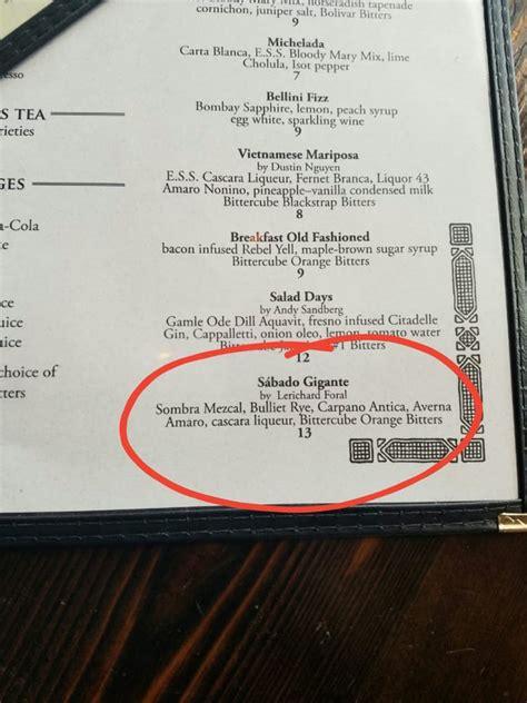 creative cocktail names yelp