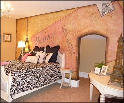 bedroom fun paris themed rooms pink poodle and furniture decor on pinterest