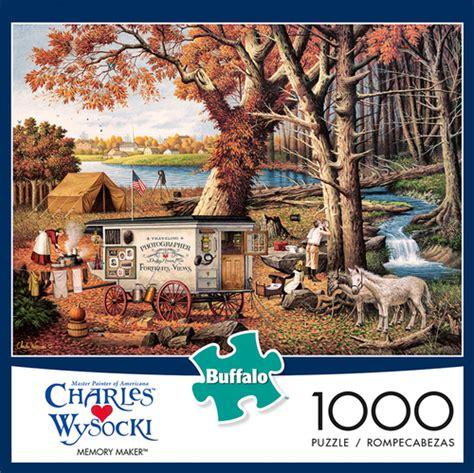 charles wysocki memory maker  piece jigsaw puzzle