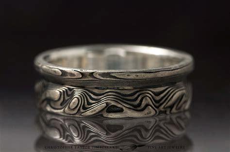 mokume gane mokum 233 gane 14k palladium white gold and sterling silver