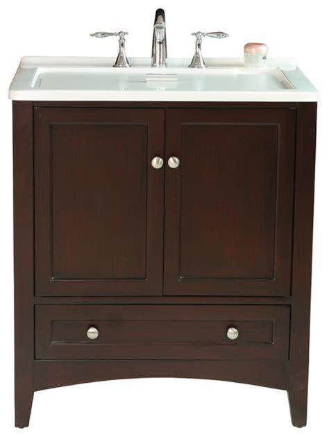 Laundry Tub Vanity by 30 5 Quot Espresso Laundry Single Sink Vanity