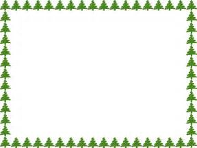 christmas tree border clipart free clipartsgram com