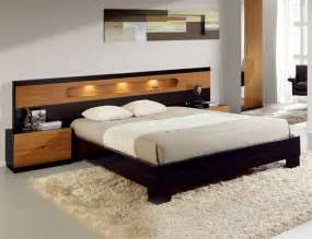 Platform Beds Modern Design Lacquered Made In Spain Wood Modern Platform Bed With