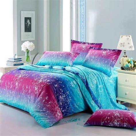 neon comforter neon teen girls bedding forest scene full size bright