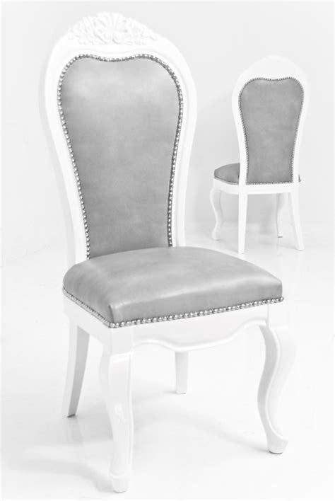 Grey Faux Leather Dining Chairs Www Roomservicestore Riviera Dining Chair In Grey