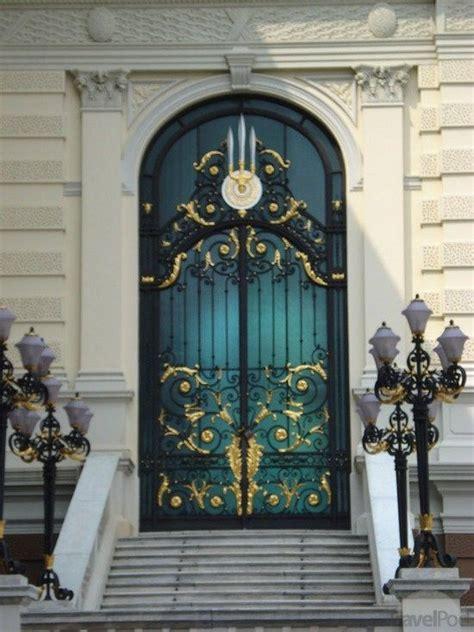 Gold S Door by Black And Gold Metal Door In Bangkok Knockin On