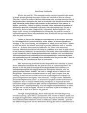 Siddhartha Essay by Deathaswell