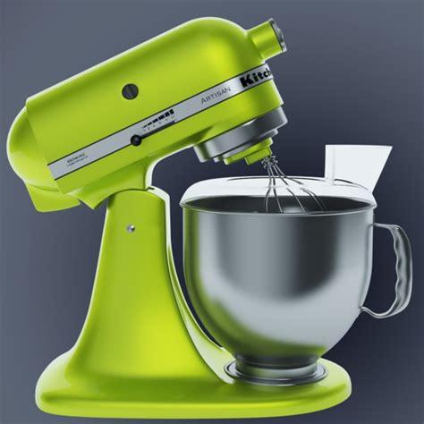 3d kitchen aid mixer model