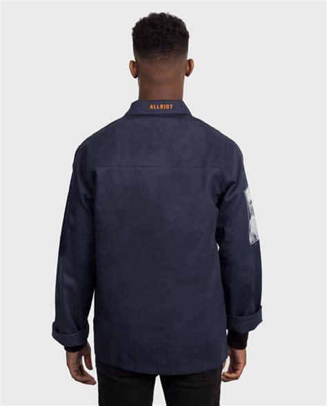 Tshirt Bontrager Hight Quality limited edition navy workwear jacket allriot