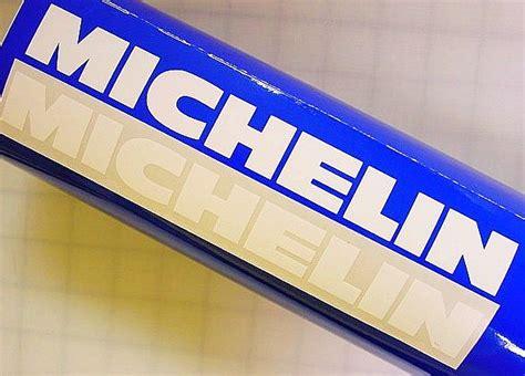 Sticker Michelin 10x4 Cm Michelin White 13in Stickers Decals R6 Tires Miata R 1 3 6