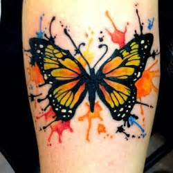 colorful butterfly tattoos unique butterfly watercolor colorful