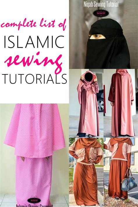 islamic pattern clothes islamic sewing patterns sew some stuff