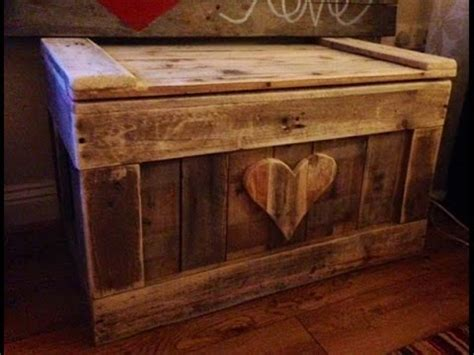 build  wooden chest youtube