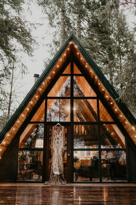 aframe homes 2018 this a frame cabin elopement inspiration is the epitome of the pnw junebug weddings