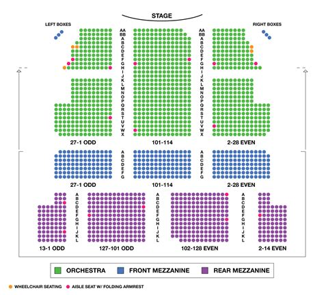 majestic theater san antonio seat numbers majestic theatre large broadway seating charts